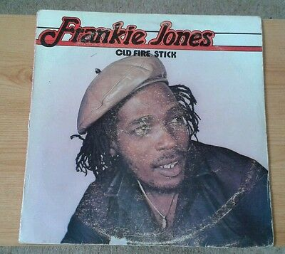 Frankie Jones - Old Fire Stick - Original Jamaican Lp - Rare Reggae - Powerhouse