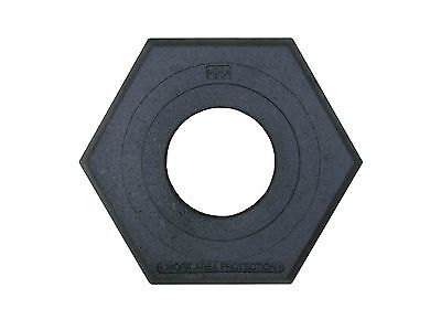 "Work Area Protection CB-16 Rubber Channelizer Cone Base 2.4"" Height 16 lbs"