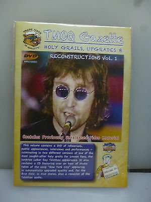 John Lennon-Holy Grails, Upgrades...v1. Tmoq Gazette V.30-Dvd+Cd+Book-New.sealed