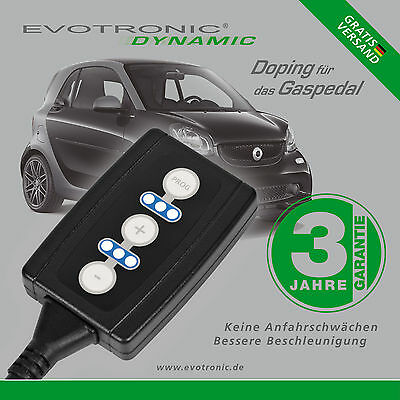 Evotronic Gaspedal Tuning Smart Fortwo (453)