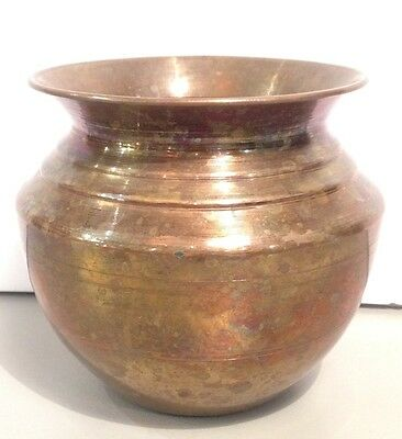 Solid Brass Vase ( Antique Vase )