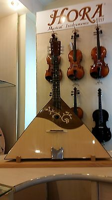 6 strings prim balalaika, made in Romania by Hora, solid wood, NEW