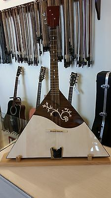 3 strings prim balalaika, made in Romania by Hora, solid wood, NEW