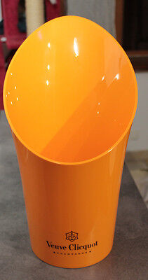 French Champagne Plastic Veuve Clicquot  Bucket / Cooler