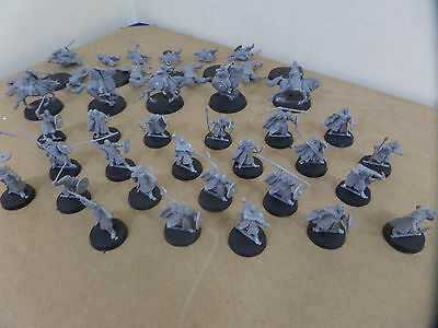 Lord of the Rings - Men of Rohan x  34 Plastic Warhammer joblot