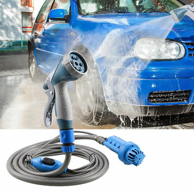 12V 60W Portable Car Washer High Pressure for Auto Gardening Camping+Car charger