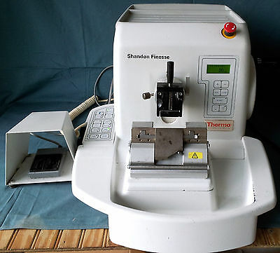 Thermo Shando Finesse ME Microtome with Foot Switch