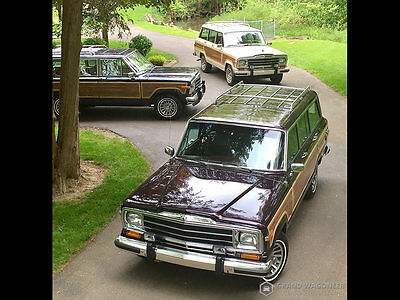 1991 Jeep Wagoneer Grand Wagoneer by Classic Gentleman Grand Wagoneer by Classic Gentleman Final Edition '91 Black Cherry  83,273 Miles
