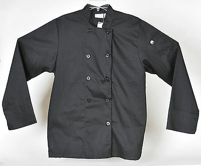 Chef Works Bastille Black Size S Euro 46/48 New with Tags