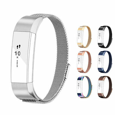 For Fitbit Alta Strap Alta HR Band, Milanese Loop Stainless Steel Bracelet Smart