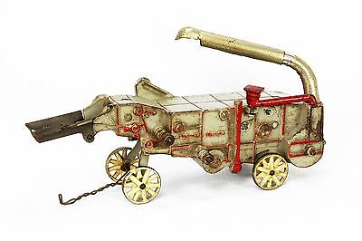 Vintage Arcade McCormick Deering Thresher Cast Iron Farm Toy ca1930