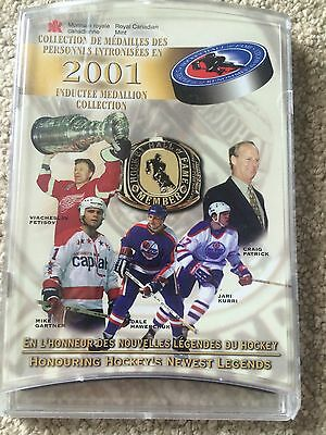 2001 Hockey Hall Of Fame Inductee Medallion Collection, Rare, Coins, NHL