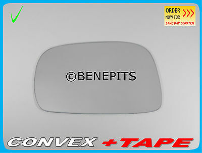 For Suzuki Wagon R 00-07 Left passenger side Aspheric wing mirror glass