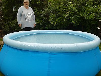 large 8 feet round  paddling pool brand new cost £49.99 (only 10 remaining)
