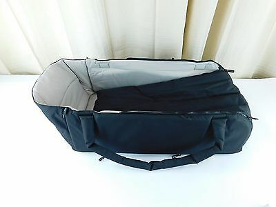 phil&teds Cocoon, Carry Cot & Buggy Bed - Black (worn box ) 2012