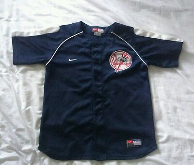 New York Yankees - Kids 12_14  Years Old (M) -  MLB Baseball Jersey