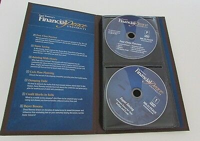 Dave Ramsey Financial Peace University  CLASS/COURSE -13  DVD Set!