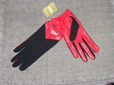 M&S Vintage Leather Driving Gloves BNWT Size Small