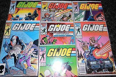G.I. Joe, A Real American Hero #46 - #52 (seven issue lot)