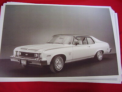 1973 Chevrolet Nova Spirit Of America Hatchback   Big 11 X 17  Photo /  Picture