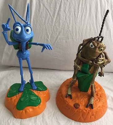 Disneys Pixar Bugs Life Toy Flik and Hopper Room Guard Talking Acion Figure