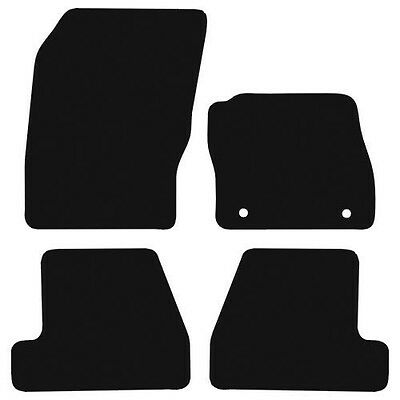 Ford Focus (2011 To 2015) new 3mm checkered Rubber tailored car floor mats