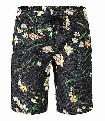 Gucci mens Beach Shorts Black S, M, L