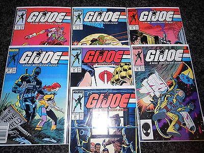 G.I. Joe, A Real American Hero #60 - #66 (seven issue lot)