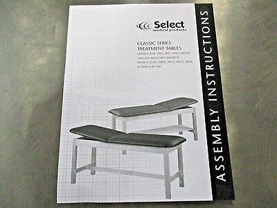 Clinton Industries 1010-27 2060 Classic Series Treatment Exam Table NEW