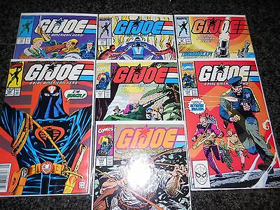 G.I. Joe, A Real American Hero #74 - #103 (seven issue lot)