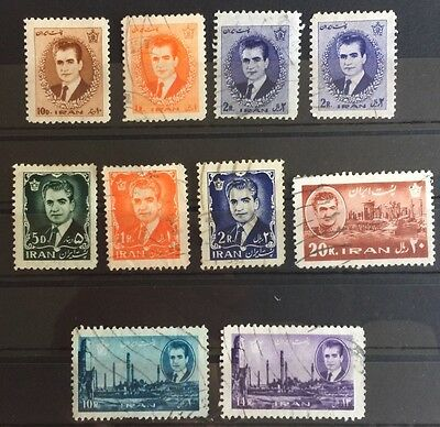 1962-66 Middle East Stamps Used (15)