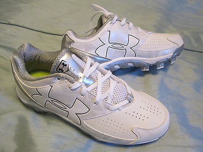 New Womens Under Armour Spine Glyde Tpu Baseball Softball Cleats 8 Free Ship!