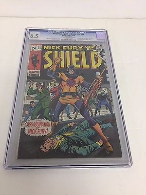 Nick Fury Agent Of Shield 15  Cgc 6.5 1St App Bullseye