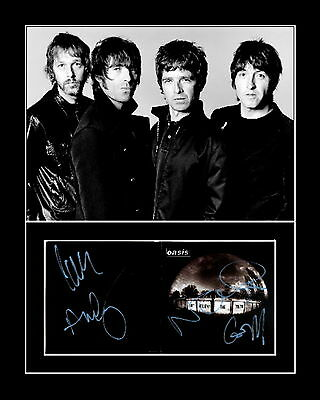 OASIS signed DONT BELIEVE THE TRUTH cd cover       VIDEO PROOF of authenticity