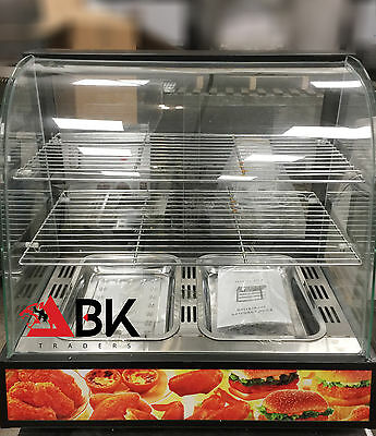 Hot Food Warming Electric Display Cabinet Counter Pie Pasty Sausage  'ABK'