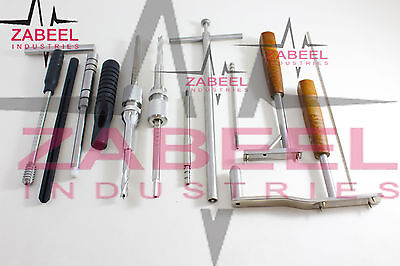 DHS/DCS Plate Stainless Steel Orthopedic instruments Set Zabeelind