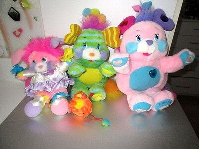 POPPLES 2001 Pitter Patty Lights Sounds Pinwheel Penny Cheerleader Mini   Lot C4