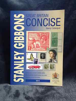 Great Britain Concise Stamp Catalogue 2014 by Stanley Gibbons