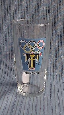 Vintage original Munich / Munchen Olympics Games 1972 Collectors Tumbler Glass 1