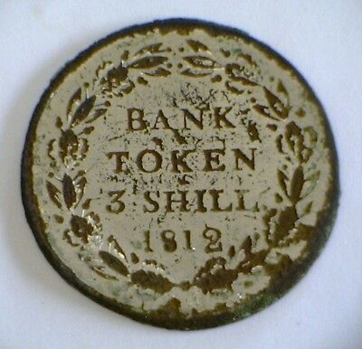 Bank Token 3 Shillings 1812