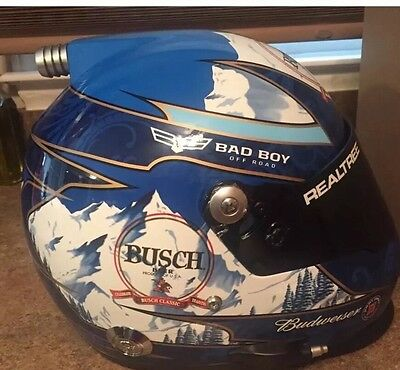 Kevin Harvick AUTOGRAPHED SIGNED Full Size Busch Light Helmet Exact Proof