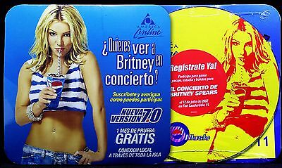 Britney Spears AOL Pepsi Mexican Spanish Promo CD (NEW & SEALED)