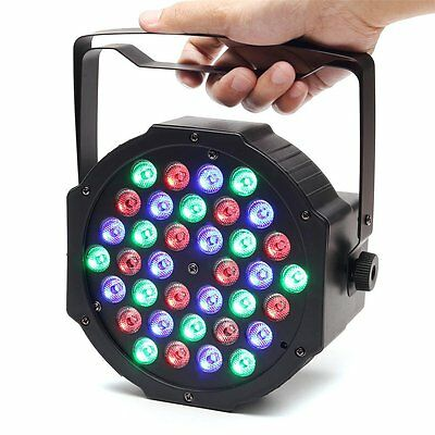 Disco Lights, SOLMORE DMX-512 36W LED Par Can / Par Light / Stage Lighting