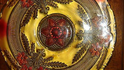 vintage glass plate