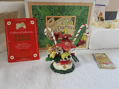 Whimsical World Of Pocket Dragons Yule Love Real Musgrave Christmas BOXED + CERT