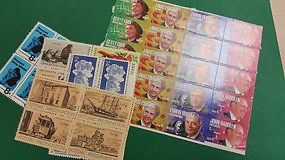 US Forever Stamp Rate of 49 cents  - 2 stamp combo lot of 20 -   FMV $9.80