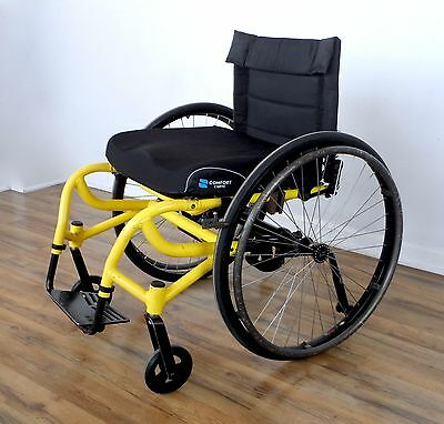 Invacare A-6S wheelchair, telescoping suspension - like tilite-icon-quickie xtr
