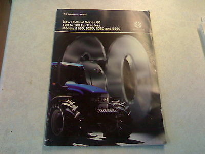 new holland series 60 8160 8260 8360 8560 sale brochure 28 page