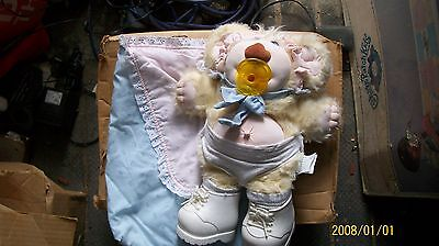Cabbage Patch Baby Furskin Bear Thistle Dressed