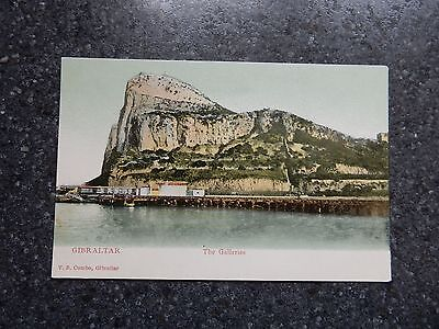 Early V.B Cumbo Postcard - - Gibraltar- The Galleries